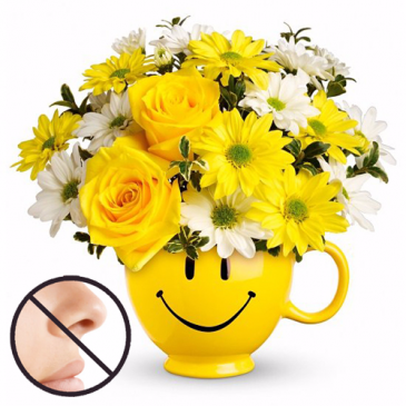 Be Happy Bouquet Flower Arrangment