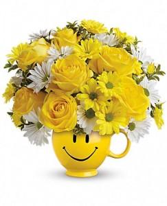 Be Happy Bouquet  fresh flowers