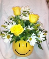 Be Happy Bowl Fresh Arrangement