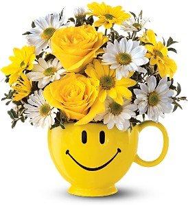 Be Happy Smile Mug