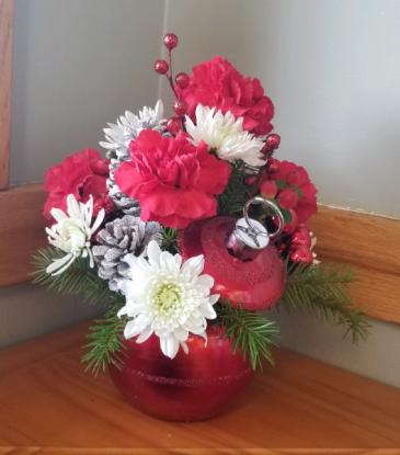 Be Merry Floral Arrangement