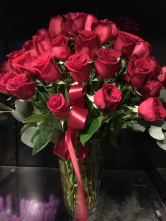 Be Mine 4 Dozen Perfect Premium Red Roses