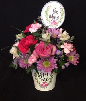Be Mine   in Fowlerville, MI | ALETA'S FLOWER SHOP