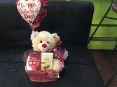 Be mine basket Candy and gifts