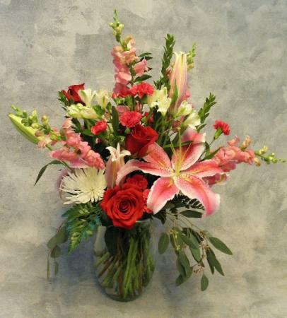 Be Mine Bouquet Fresh Flowers
