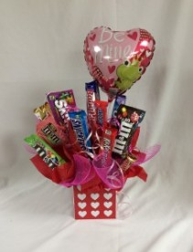 Be Mine Candy Bouquet