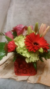 For the Best MOM! Cube arrangement