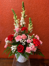 Be Mine Valentine Arrangement