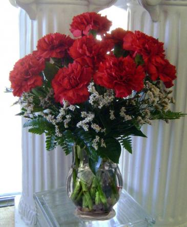 Be Mine, Valentine Vase Arrangement