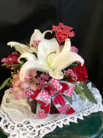 Be mine Vase arrangement