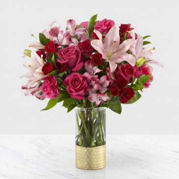 Be-My-Beloved Bouquet Teleflora Vase Arrangement