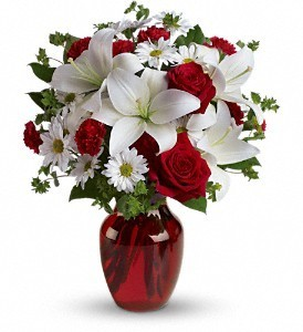 Be My Love Bouquet Roses & Lilies
