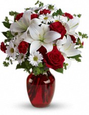 Be My Love Bouquet with Red Rose