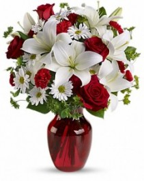 Be My Love Bouquet with Red Roses ---