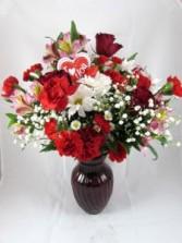 Be My Love Custom Fitzgerald Flowers Arrangement
