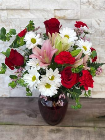 Be My Love vase