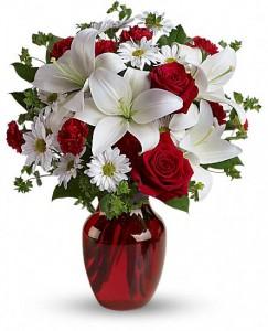 Be My Love Vase Arrangment