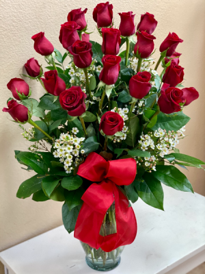 Be My Valentine 24 Red Roses in Riverside, CA | Willow Branch Florist of Riverside