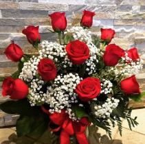 Be My Valentine Vase arrangement