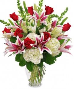 Be My Valentine Bouquet Anniversary Bouquet