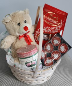 Be My Valentine Gift Basket In Saint Simons Island Ga A Courtyard