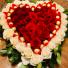 Be my valentine  Heart shape