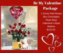 Be My Valentine Package Valentine's Day