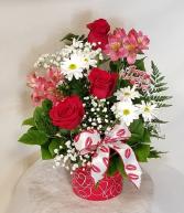 Be My Valentines Fresh Arrangement