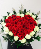 Be Still My Beating Heart Large Rose Arrangement