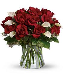 Be Still My Heart - Dozen Red Roses Arrangement
