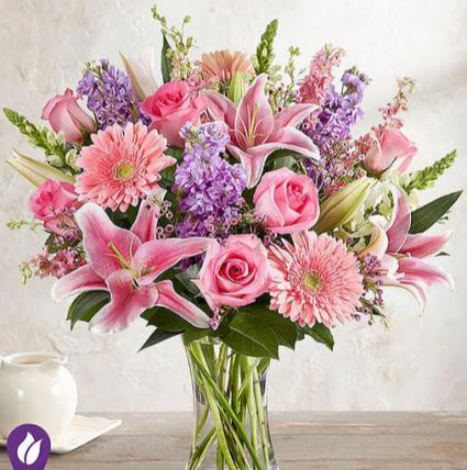 Be Still My Heart Mixed Floral Arrangement