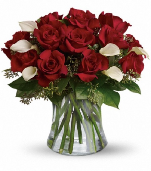 Be Still My Heart! Rose Arrangement in La Plata, MD | Potomac Floral Design Studio