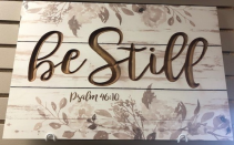 Be Still Picture Giftware
