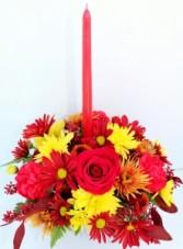 Be Thankful Fresh Flower Centerpiece