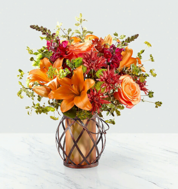 Be Thankful Lantern Bouquet