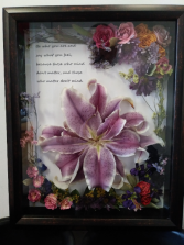 Be who you are Gift shadow box