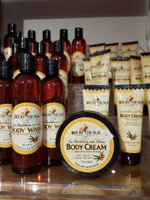 BEE BY THE SEA $ 13.00 and up With sea buckthorn and honey