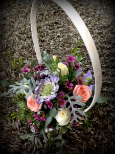 Beachcomber Flowergirl Basket