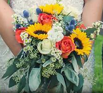 Beaming Bride Bridal Bouquet in Moses Lake, WA | FLORAL OCCASIONS