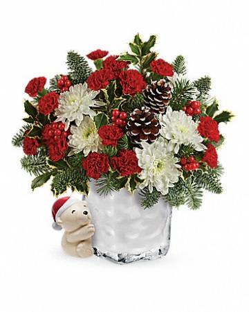 BEAR HUG Vase Arrangement