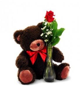 Bear Hugs Vase