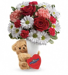 Bear Your Heart Floral Bouquet