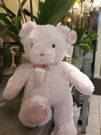 Bearington Baby's First Teddy Small bear