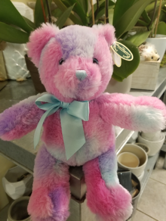 Bearington tye dye bear Teddy Bear