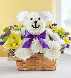 Beary Cheerful  Fresh Arrangement