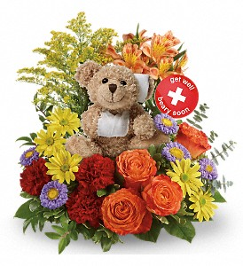 Beary Well Bear Get Well  in Azle, TX | QUEEN BEE'S GARDEN