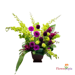 Beatifically Flower Arrangement in Miami, FL | FLOWERTOPIA