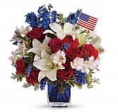 Beautiful America American Glory Bouquet