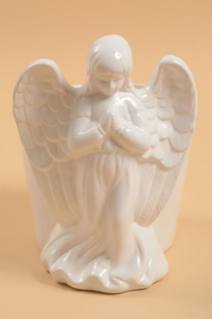 Beautiful Angel Planter  in Fort Lauderdale, FL | ENCHANTMENT FLORIST