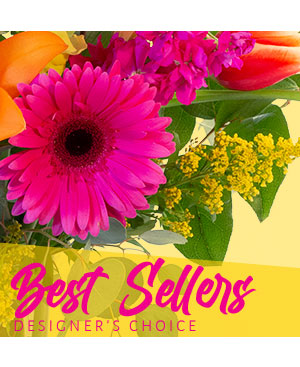 Beautiful Best Seller Designer's Choice in Valentine, NE | Janine's Flower Exchange